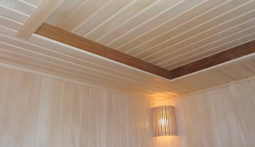 Двухуровневые потолки из дерева как сделать